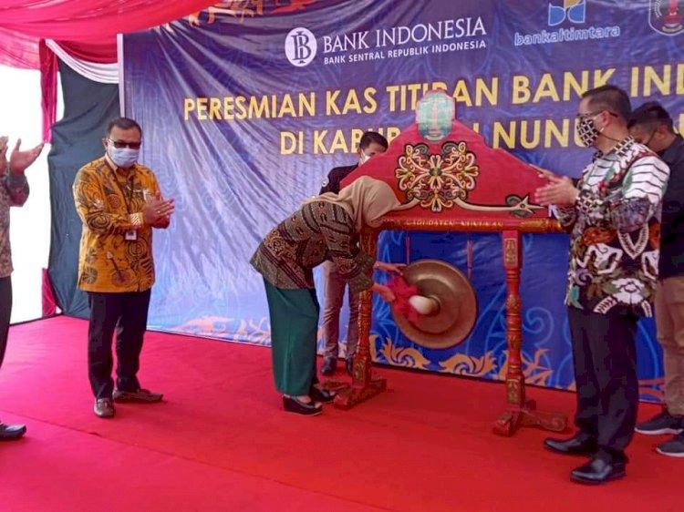 Bank Indonesia Percayakan PT BPD Kaltimtara Nunukan sebagai Kas Titipan