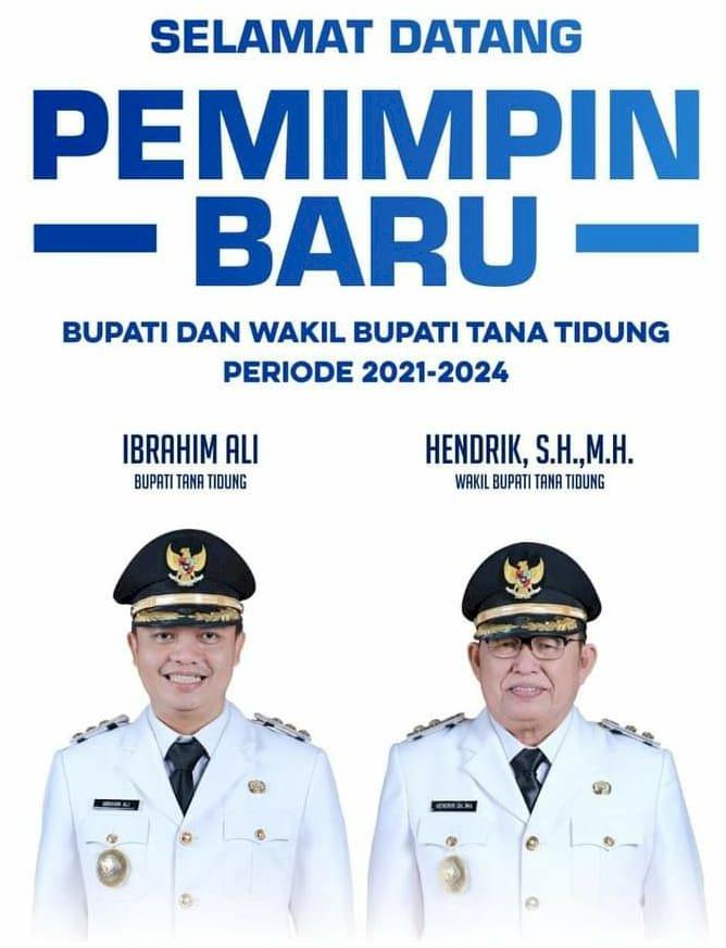 Dua Kepala Daerah Dilantik, DPW PBB Kaltara Ucapkan Selamat dan Sukses