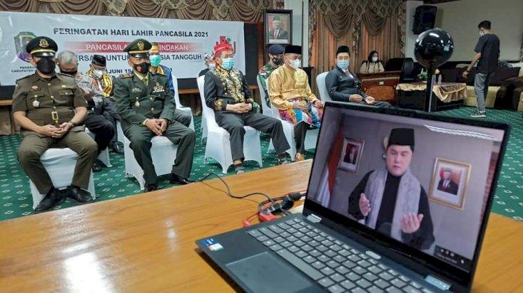 Pancasila dalam Tindakan Bersatu untuk Indonesia Tangguh