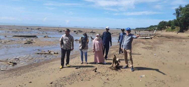 Dewan Monitoring Lokasi Abrasi dan Penambangan Pasir Ilegal di Sebatik