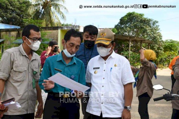 Monitoring Pembangunan di Nunukan Selatan, Hanafiah: Harus Melihat Aspek Manfaat Bagi Masyarakat
